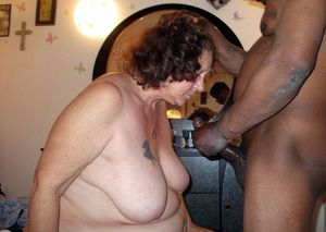 bbw granny interracial