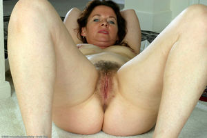 beautiful hairy milf