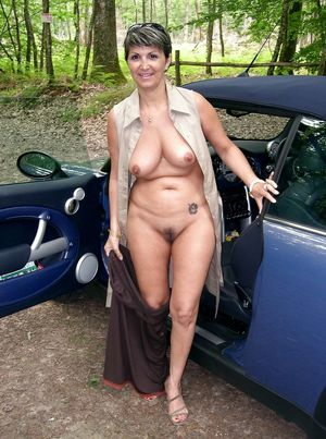vintage mature nudist