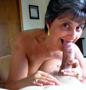 naked older woman