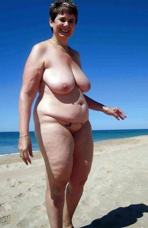 mature topless women