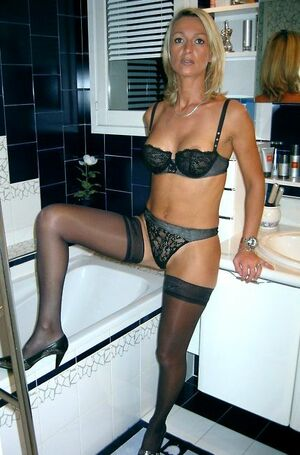 mature women lingerie