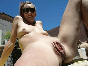 mature blonde granny