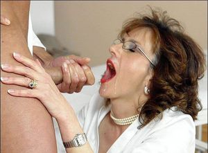 fat milf blowjob
