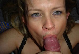 milf giving blowjob